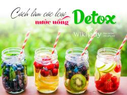 Những công thức nước uống Detox giảm cân hiệu quả nhất