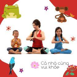 Yoga phát triển toàn diện cho bé