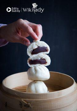 Hướng dẫn cách làm bánh bao đậu đỏ hấp (Dou Sha Bao)