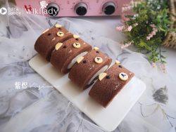Cách làm bánh cuộn hình chú gấu nâu xinh yêu, ngon tuyệt