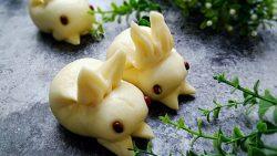 Hướng dẫn cách làm bánh thỏ con xinh yêu cho bé
