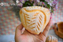 Làm bánh mì nguyên cám hình chiếc lá thơm ngon, dinh dưỡng