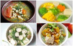 19 cách nấu canh nhanh – ngon – dễ làm cho bữa cơm gia đình