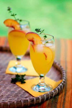 Các loại đồ uống ngon từ quả đào