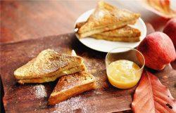 Sandwich cuộn mứt táo công thức nhà làm