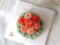 Hướng dẫn làm xôi hoa đậu Hàn Quốc – Bean flower –