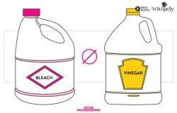 6 bộ đôi sản phẩm làm sạch không nên kết hợp cùng nhau