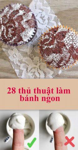 """28 thủ thuật làm bánh ngon mà bất kì """"phù thủy"""" lành nghề nào cũng cần phải biết"""