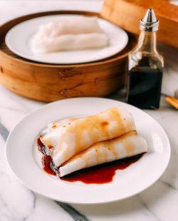 Món dim sum ngon: làm bánh cuốn tôm trắng mịn hấp dẫn