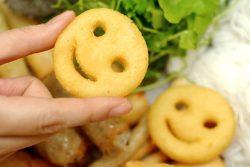 Bánh khoai tây chiên mặt cười ngộ nghĩnh chiêu đãi bé yêu