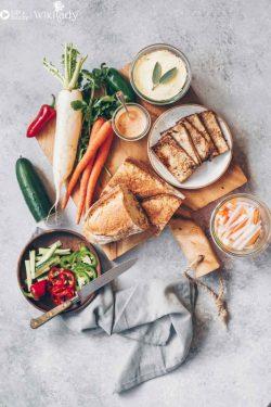 Hướng dẫn làm bánh mì chay + pate chay ngon và lành