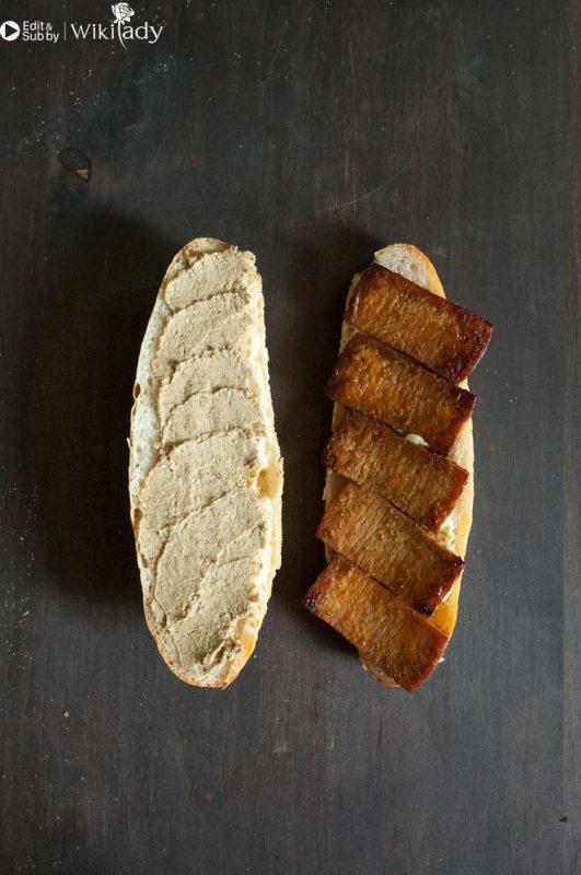 bánh mì đậu phụ bước 3a