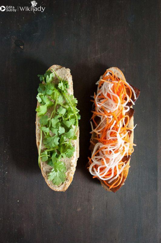 bánh mì đậu phụ bước 3b