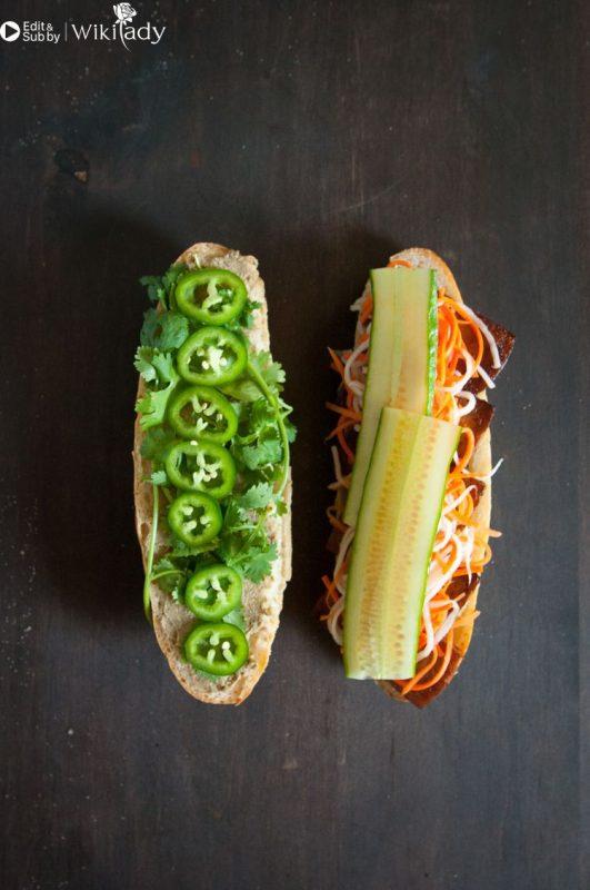 bánh mì đậu phụ bước 3c