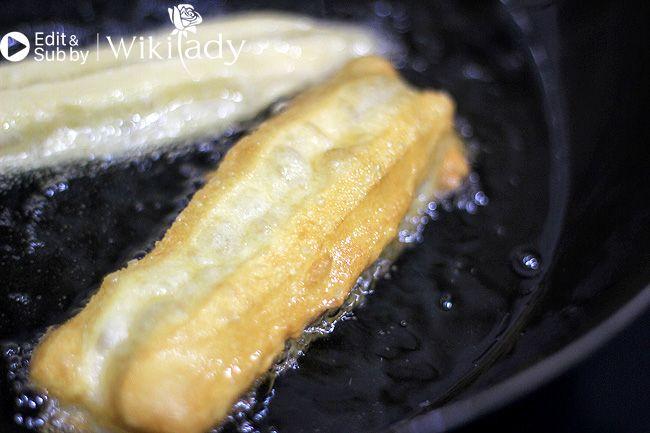 Cách làm bánh quẩy bước 5