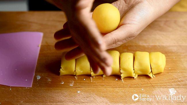 bánh tart nhân dứa bước 2.3
