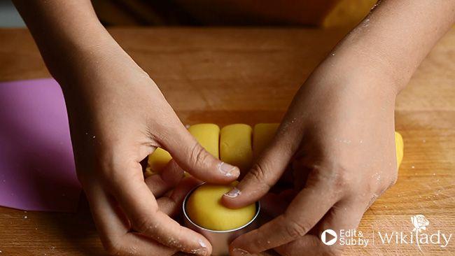 bánh tart nhân dứa bước 2.4