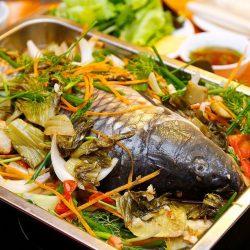Thưởng thức món cá chép om dưa trong thời tiết nào cũng đều hấp dẫn