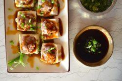 Cách làm đậu phụ nhồi thịt kiểu Trung Quốc siêu ngon