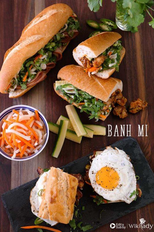 bánh mì Việt Nam 1