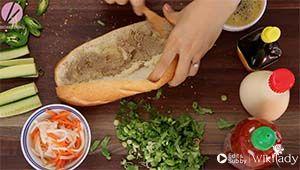 bánh mì Việt Nam bước 2a