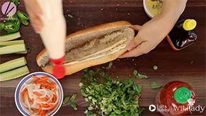 bánh mì Việt Nam bước 2b