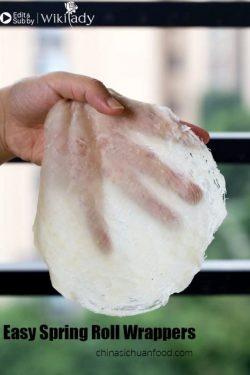Cách tự làm bánh đa nem đơn giản nhất – tin được không