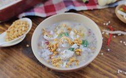 Chè chuối bột báng nước cốt dừa ngon miệng, dễ làm
