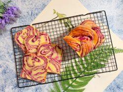 Làm sandwich khoai lang tím – ngon, đẹp, tốt cho sức khỏe