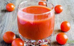 Sinh tố cà chua thon dáng, đẹp da