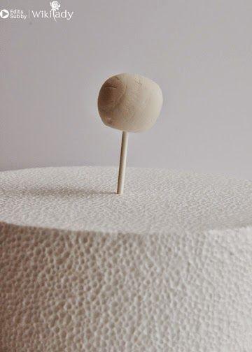 Trang trí bánh kem bằng giấy gạo 20