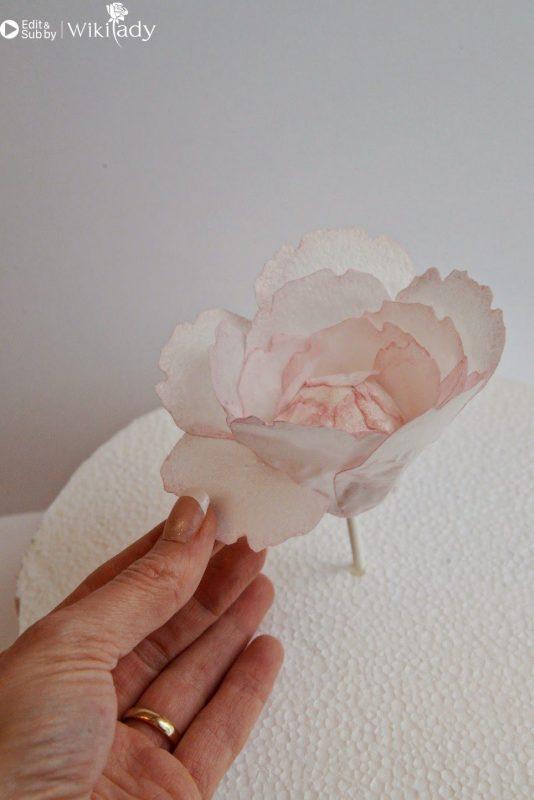 Trang trí bánh kem bằng giấy gạo 28