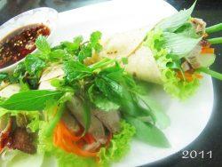 Cách làm món vịt quay Bắc Kinh và lá bánh ngô