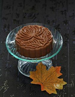 Trổ tài khéo léo với bánh trung thu thạch sô cô la Nutella