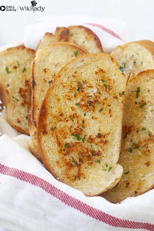 bánh mì bơ tỏi 2