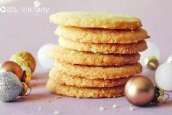 Hướng dẫn làm món bánh quy bơ giòn siêu chi tiết (Shortbread Cookie)