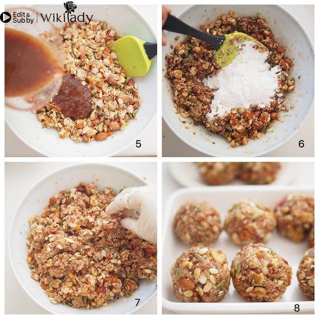 Cách làm bánh trung thu nhân thập cẩm 6