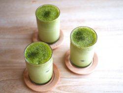 Công thức Latte trà xanh đá mát lạnh ngày hè
