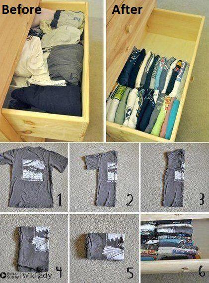 cách gấp quần áo 3