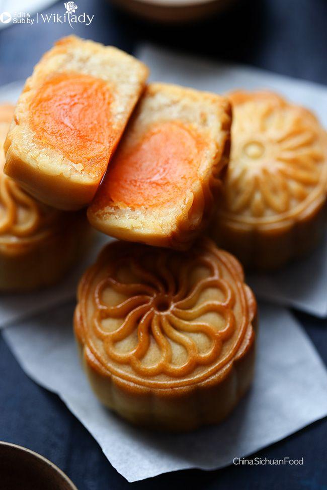 cách làm bánh trung thu nướng 12
