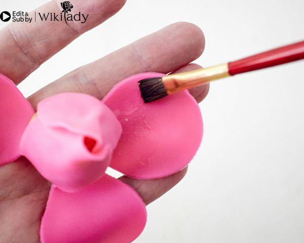 Cách làm cake pop hoa hồng 14