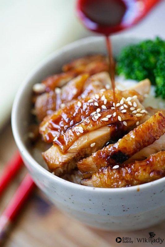 cách làm gà teriyaki 3