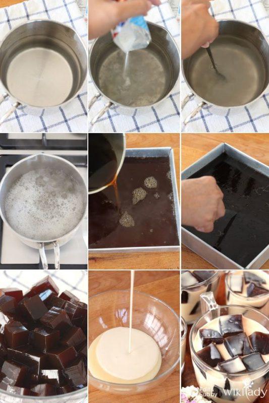 cách làm thạch cà phê 5