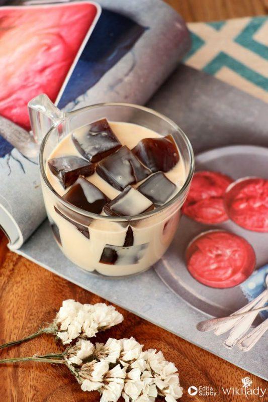 cách làm thạch cà phê 2