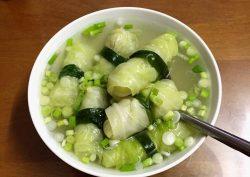 Bắp cải mini nấu canh ăn mát lành ngày nóng