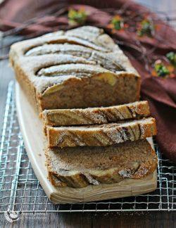 Bánh chuối xốp mềm ngon thần thánh thơm lừng gian bếp