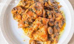Món ăn Keto: Marsala Keto và Gluten-free thơm béo