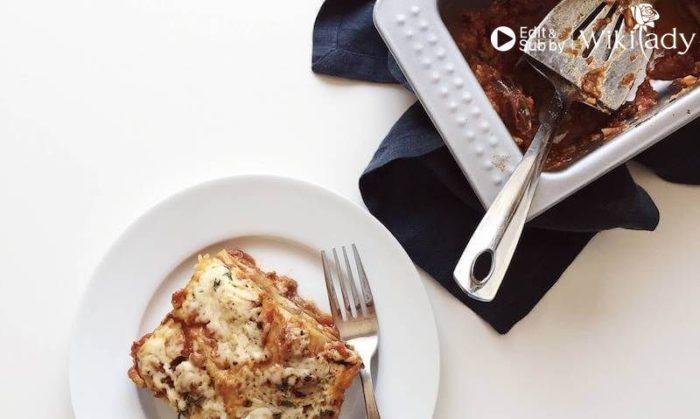 Lasagna phô mai keto