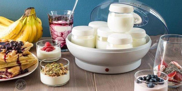 Chọn mua máy tự làm sữa chua mini cho gia đình