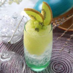 Bí quyết pha nước si-rô kiwi bạc hà